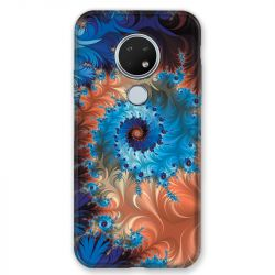 Coque pour Nokia Nokia 6.2 et Nokia 7.2 Psychedelic Spirale