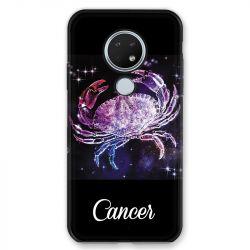 Coque pour Nokia Nokia 6.2 et Nokia 7.2 signe zodiaque 2 Cancer