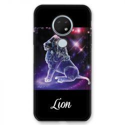 Coque pour Nokia Nokia 6.2 et Nokia 7.2 signe zodiaque 2 Lion