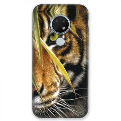 Coque pour Nokia Nokia 6.2 et Nokia 7.2 oeil tigre