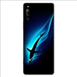 Coque pour Sony Xperia L4 Requin Noir