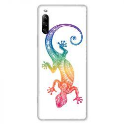 Coque pour Sony Xperia L4 Animaux Maori Salamandre color