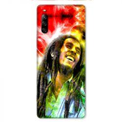 Coque pour Sony Xperia L4 Bob Marley Color