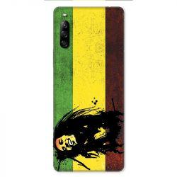 Coque pour Sony Xperia L4 Bob Marley Drapeau