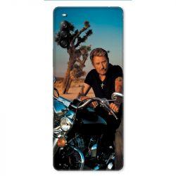 Coque pour Sony Xperia L4 Johnny Hallyday Moto