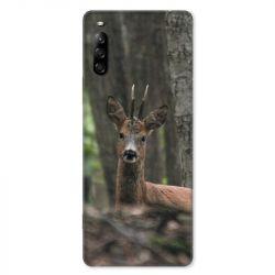 Coque pour Sony Xperia L4 chasse chevreuil Bois