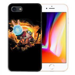 Coque pour iphone 7  / 8 / SE (2020) Manga Naruto noir