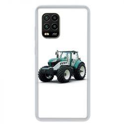 Coque pour Xiaomi Mi 10 Lite 5G - Agriculture Tracteur Blanc