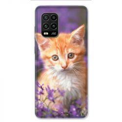 Coque pour Xiaomi Mi 10 Lite 5G - Chat Violet