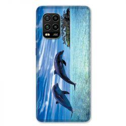 Coque pour Xiaomi Mi 10 Lite 5G - Dauphin ile