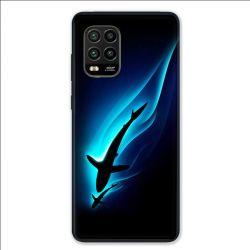 Coque pour Xiaomi Mi 10 Lite 5G - Requin Noir