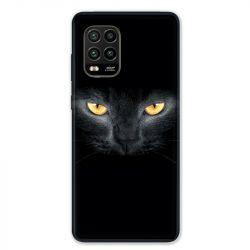 Coque pour Xiaomi Mi 10 Lite 5G - Chat Noir