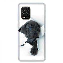 Coque pour Xiaomi Mi 10 Lite 5G - Chien noir