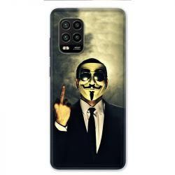 Coque pour Xiaomi Mi 10 Lite 5G - Anonymous doigt