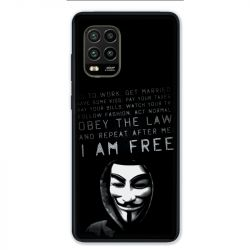 Coque pour Xiaomi Mi 10 Lite 5G - Anonymous I am free