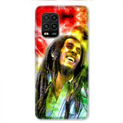 Coque pour Xiaomi Mi 10 Lite 5G - Bob Marley Color