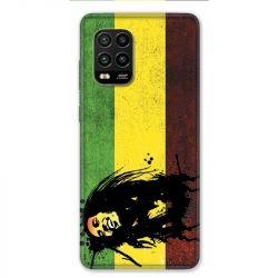 Coque pour Xiaomi Mi 10 Lite 5G - Bob Marley Drapeau