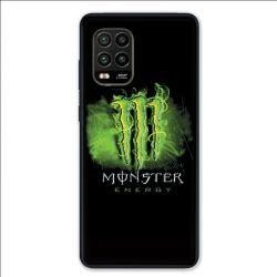 Coque pour Xiaomi Mi 10 Lite 5G - Monster Energy Vert