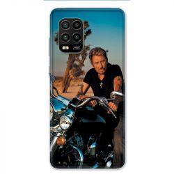 Coque pour Xiaomi Mi 10 Lite 5G - Johnny Hallyday Moto
