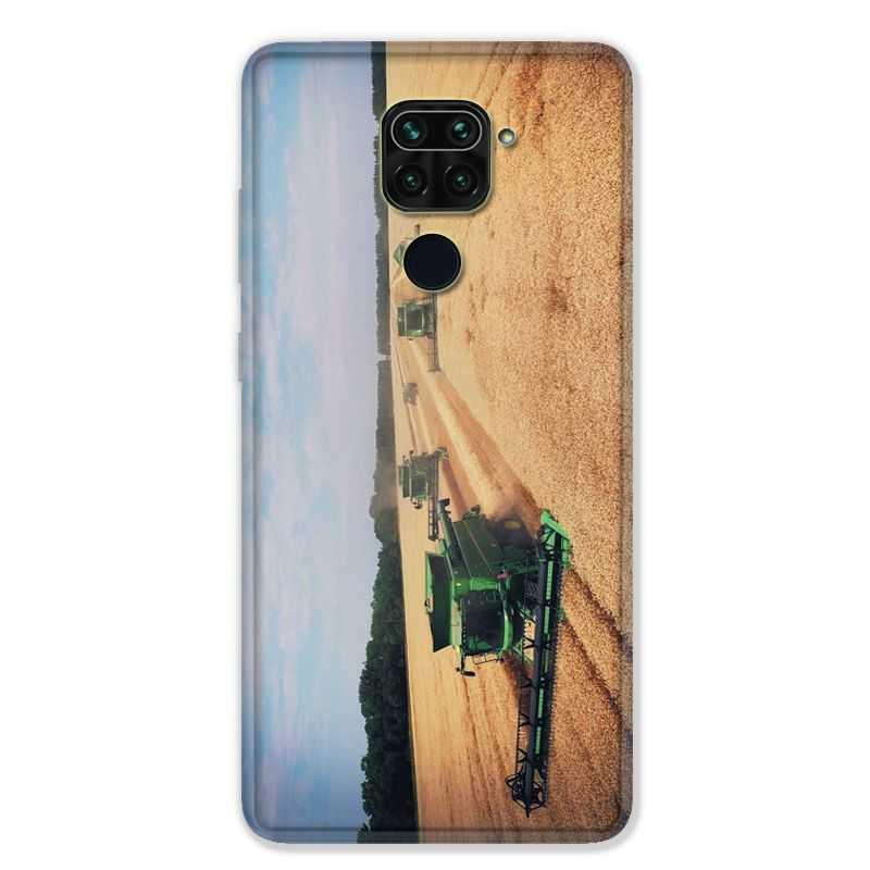 Coque pour Xiaomi Redmi Note 9 - Agriculture Moissonneuse