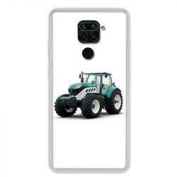Coque pour Xiaomi Redmi Note 9 - Agriculture Tracteur Blanc
