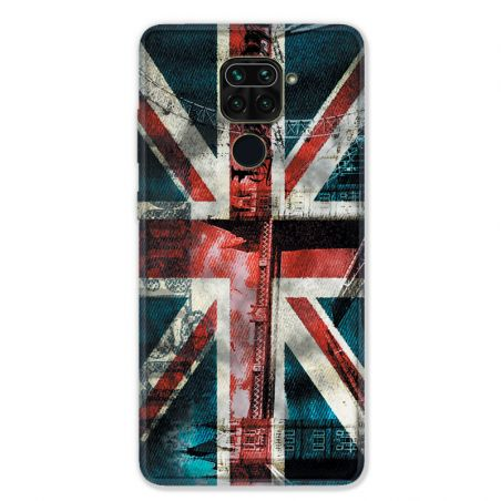 Coque pour Xiaomi Redmi Note 9 - Angleterre UK Jean's
