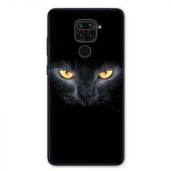 Coque pour Xiaomi Redmi Note 9 - Chat Noir