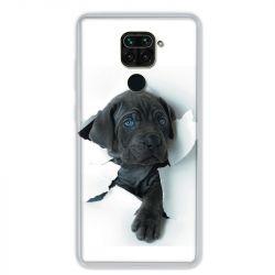 Coque pour Xiaomi Redmi Note 9 - Chien noir