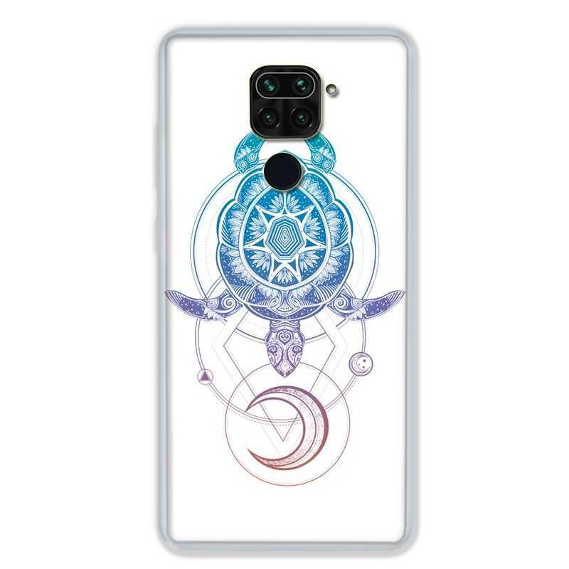Coque pour Xiaomi Redmi Note 9 - Animaux Maori tortue color