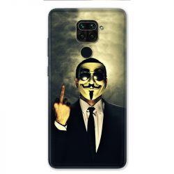 Coque pour Xiaomi Redmi Note 9 - Anonymous doigt