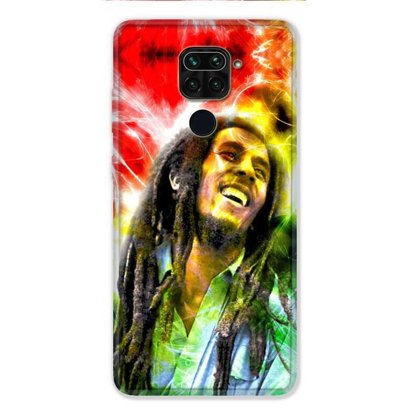 Coque pour Xiaomi Redmi Note 9 - Bob Marley Color