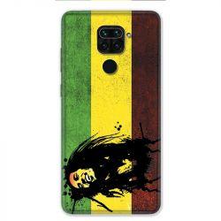 Coque pour Xiaomi Redmi Note 9 - Bob Marley Drapeau