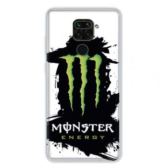 Coque pour Xiaomi Redmi Note 9 - Monster Energy tache