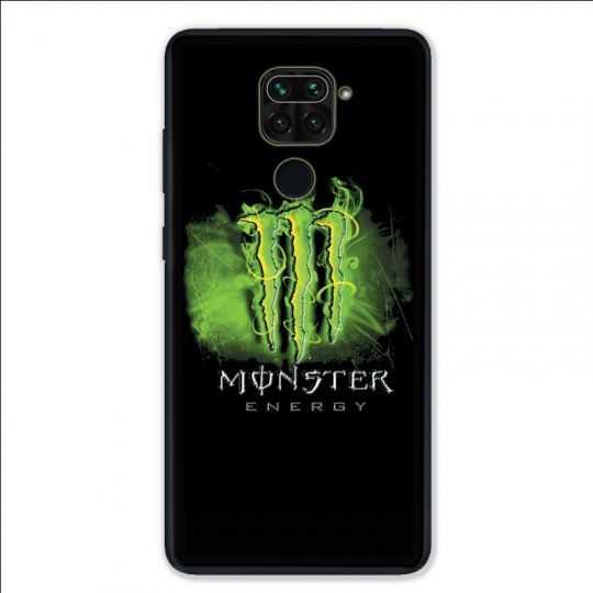 Coque pour Xiaomi Redmi Note 9 - Monster Energy Vert