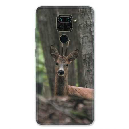 Coque pour Xiaomi Redmi Note 9 - chasse chevreuil Bois