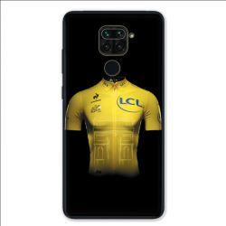 Coque pour Xiaomi Redmi Note 9 - Cyclisme Maillot jaune
