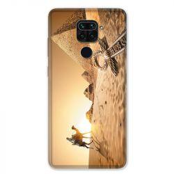 Coque pour Xiaomi Redmi Note 9 - Egypte Chameau