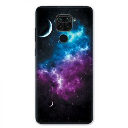 Coque pour Xiaomi Redmi Note 9 - Univers Bleu violet