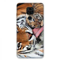 Coque pour Xiaomi Redmi Note 9 - bebe tigre