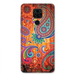 Coque pour Xiaomi Redmi Note 9 - fleur psychedelic