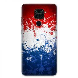 Coque pour Xiaomi Redmi Note 9 - France Eclaboussure