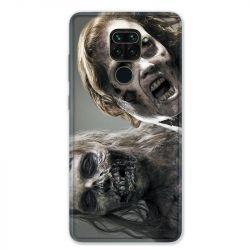 Coque pour Xiaomi Redmi Note 9 - Zombie blanc