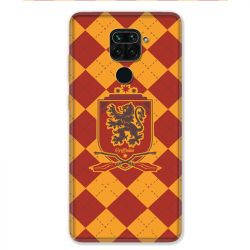 Coque pour Xiaomi Redmi Note 9 - WB License harry potter ecole Griffindor