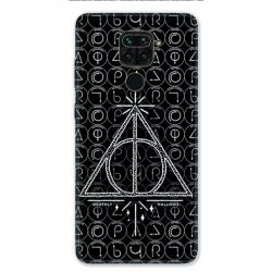 Coque pour Xiaomi Redmi Note 9 - WB License harry potter pattern triangle noir