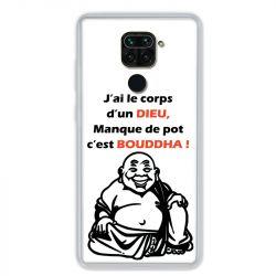 Coque pour Xiaomi Redmi Note 9 - Humour Bouddha
