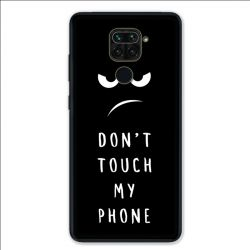 Coque pour Xiaomi Redmi Note 9 - Humour don't touch