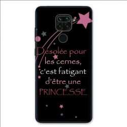 Coque pour Xiaomi Redmi Note 9 - Humour princesse
