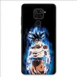 Coque pour Xiaomi Redmi Note 9 - Manga Dragon Ball Sangoku Noir