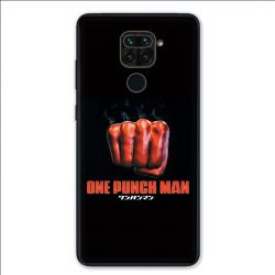 Coque pour Xiaomi Redmi Note 9 - Manga One Punch Man poing