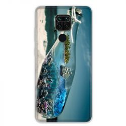 Coque pour Xiaomi Redmi Note 9 - Mer Bouteille